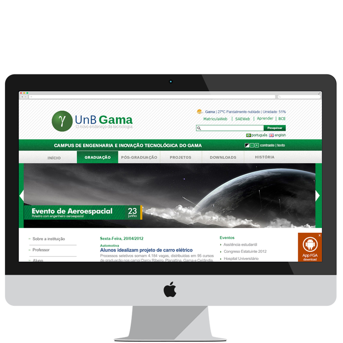FOTO WEBSITE UNB GAMA